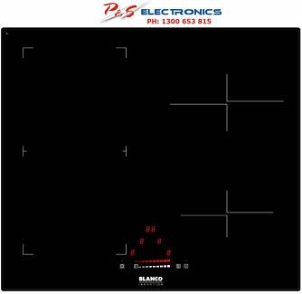 BNEW Blanco 60cm Black Ceramic Glass Cooktop Side control_BIC64F