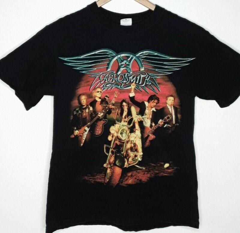 Aerosmith Concert t-shirt Adult Medium Rockin The Joint 06 Harley Davidson