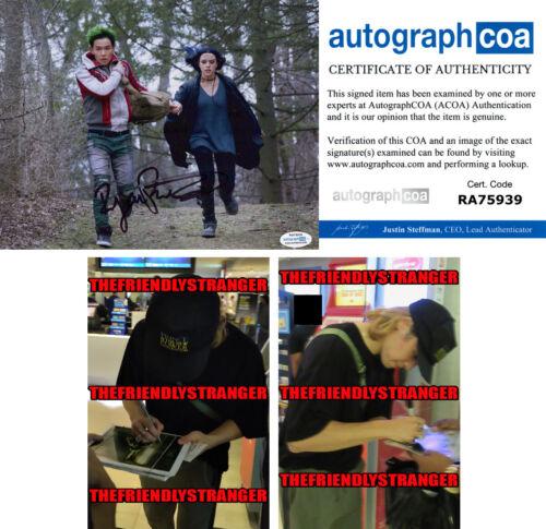 "RYAN POTTER signed Autographed ""TITANS"" 8X10 PHOTO Proof BEAST BOY Gar ACOA COA"