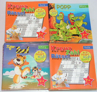60 x Rätselhefte für Kinder Händlerware Restposten Sonderposten 5807