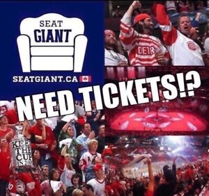 DETROIT RED WINGS TICKETS FROM JUST $19 CAD!