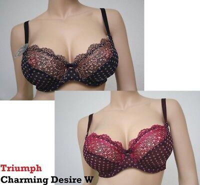 Triumph Charming Desire  BH mit Bügel W in Blue dark oder Violet dark NEU online kaufen