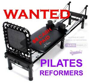 AERO PILATES MACHINES URGENTLY WANTED- CASH PAID Helensvale Gold Coast North Preview