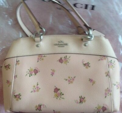 COACH PINK DAISY PRINT HAND / SHOULDER BAG F28978 BRAND NEW IDEAL GIFT BARGAIN.