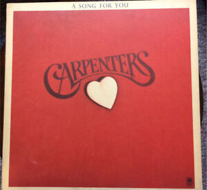 Carpenters- A song for you vinyl