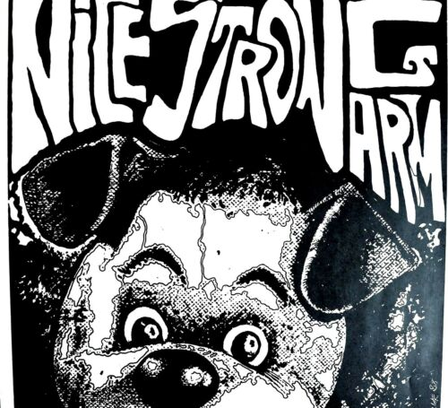 """NICE STRONG ARM - """"MIND FURNACE"""" L.P. -  EARLY KOZIK 1988! - PUNK ORIGINAL RARE"""