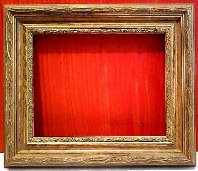 """STANDARD 16 X 20 PICTURE FRAME 3"""" WIDE  GOLD LEAF CLASSIC Carved canvas allownce"""