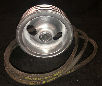 Vintage Delta Rockwell Unisaw Motor Three Grove Pulley 34 Bore 5 12 Diameter
