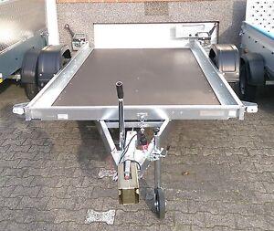 Multitransporter PKW Auto-Anhänger Hänger kippbar Trailer 1300 kg Neptun N13