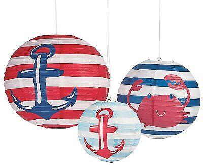 Nautical Baby Shower Paper Lanterns 8