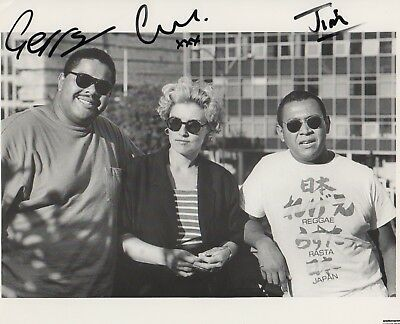 Carmel Band Autogramme signed 20x25 cm Bild s/w  (Carmel 20)