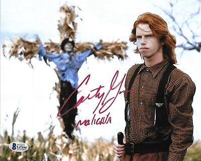 COURTNEY GAINS signed 8x10 Photo Horror Children of the Corn MALACHAI (Courtney Beckett)