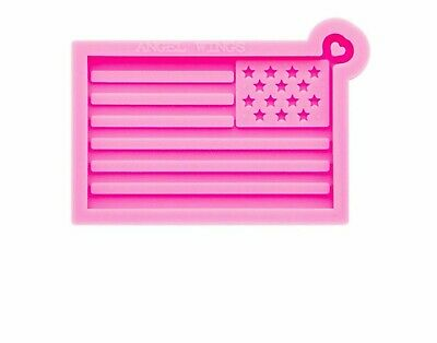 American Flag Silicone Mould Smooth Art Design Keychain DIY Epoxy Resin Molds