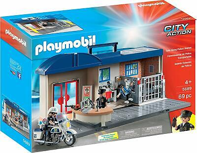 Playmobil - Take Along: Police StationMonitor the situation from the headquarter