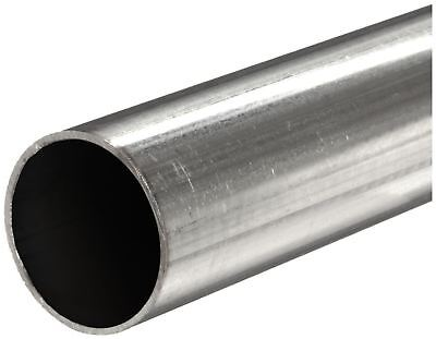316 Stainless Steel Round Tube Od 14 Wall 0.065 Length 48 Seamless