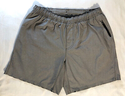 Men's Lululemon Run: Surge Shorts Size L Grey Linerless