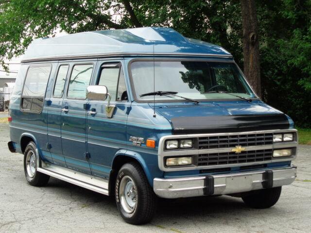 Imagen 1 de Chevrolet G20 Van blue