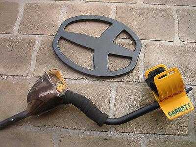 "Dust dirt rain up-cover+ 11"" skidplate for Garrett Ace 350 400 metal detectors"
