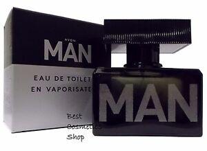 AVON-Man-Eau-de-toilette-da-uomo-COLONIA-SPRAY-AUTENTICO-75ML-NUOVO