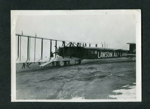 Vintage 1920 Photo Lawson L 4 Airliner Airplane 426184