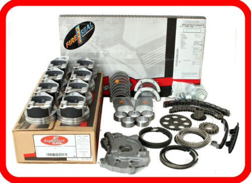 "2006-2007 Chevrolet Gmc 6.6l V8 Duramax Diesel ""2,d"" Engine Rebuild Overhaul Kit"