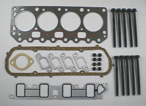 ESCORT FIESTA KA & VAN COURIER 1.3 ENDURA 1995 on HEAD GASKET SET & BOLTS FORD