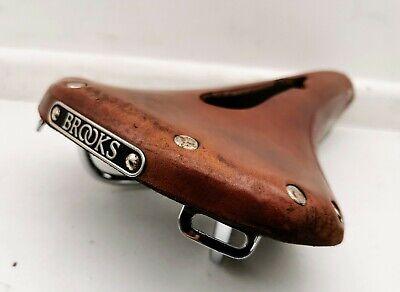 BROOKS ENGLAND B17 imperial leather saddle, 275 x 175mm, brown, comfort saddle
