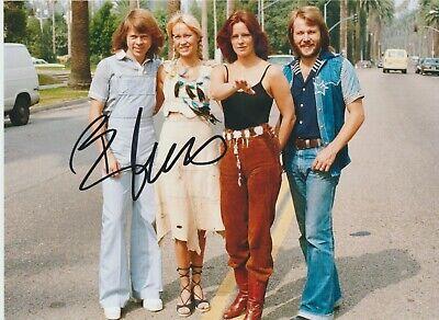 BJORN ULVAEUS  * ABBA * HAND SIGNED PHOTO