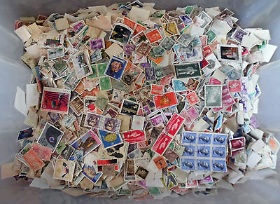 100 grams, All World Stamps Collection Mixture. Off Paper No GB. New Lot 14