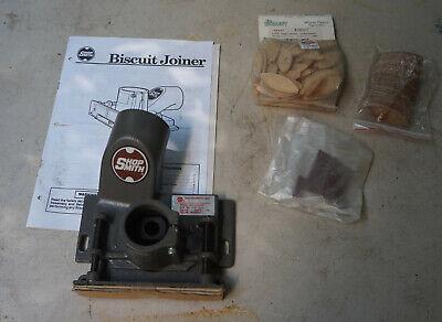 Shopsmith Mark V Biscuit Joiner W Extra Woodloft Biscuits Never Used