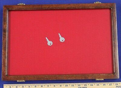 New  12 X 18 X 2 Cherry Display Frame...hand Made