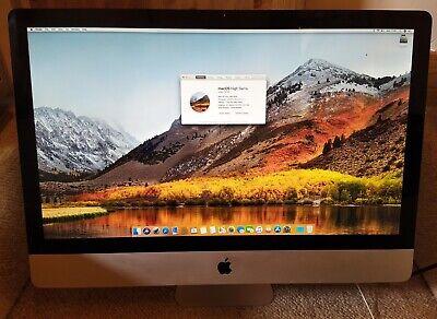 """iMac 27"""" 2010 Core i5 2.8GHz, 8GB RAM, 2TB HDD, High Sierra"""