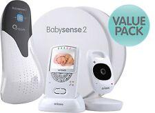 ORICOM Secure 710 Baby Video Monitor + BABYSENSE 2 Respiratory Pack
