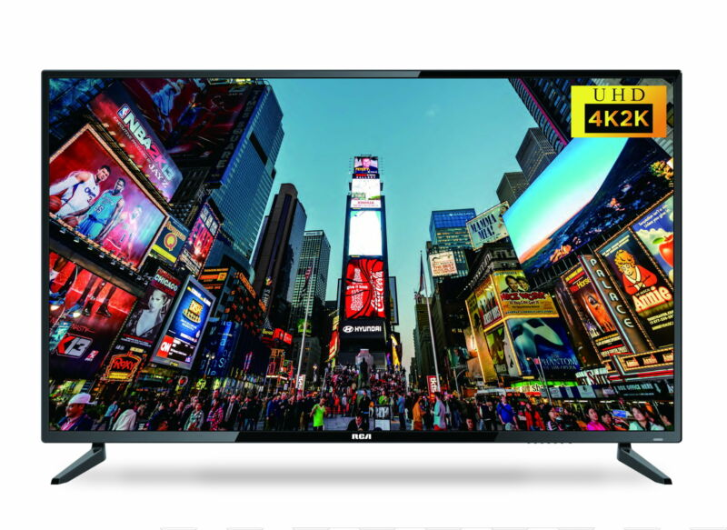 "43"" Smart Class 4K Ultra HD 2160P LED TV Pixel Color Television Control Speaker"