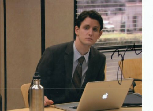 ZACH WOODS signed (THE OFFICE) autographed TV SHOW *Gabe Lewis* 8X10 W/COA #2
