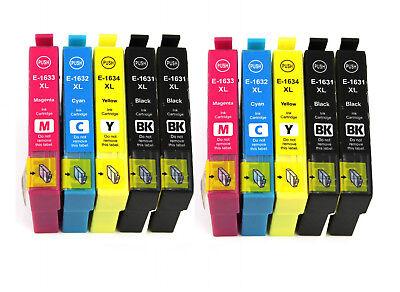 10 Drucker Patronen kompatibel für EPSON WorkForce WF-2750DWF WF-2760DWF Tinte