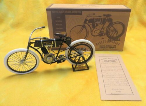 1903-04 Harley Davidson Motorcycle Xonex 1/6 scale SERIAL NUMBER ONE - BRAND NEW