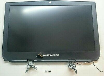 """Genuine Alienware 17 R3 P43F 17.3"""" Complete LCD Screen Housing Assembly & Screws"""