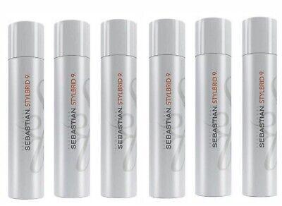 - 6 Sebastian Stylbrid 9 Hairspray Multi Benefit 6.2 oz Lot Set Of 6 Hair Spray