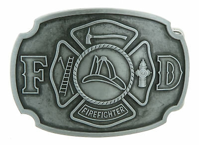 Fire Department Firefighter Original Metal Belt Buckle