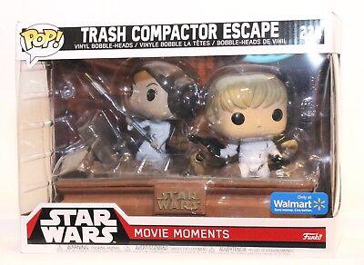 Funko Pop Star Wars Movie Moments Trash Compactor Escape 224 Walmart Exclusive