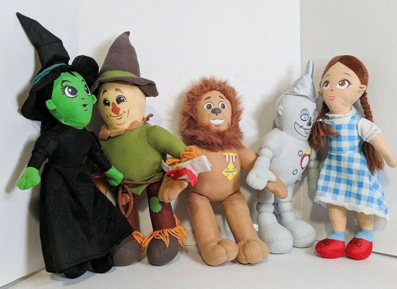 Wizard Of Oz Set Of 16 Inch Plush Dolls