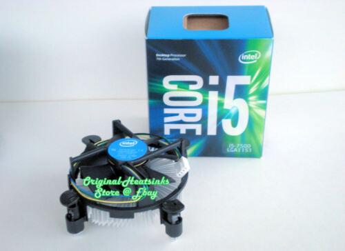 Intel Core i5-7000 7th Gen Series Cooler Fan with Heatsink for Desktop PC  - New