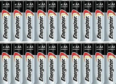 100 Pack of Energizer MAX AA E91 1.5V Alkaline Batteries Bulk  EXP 2025