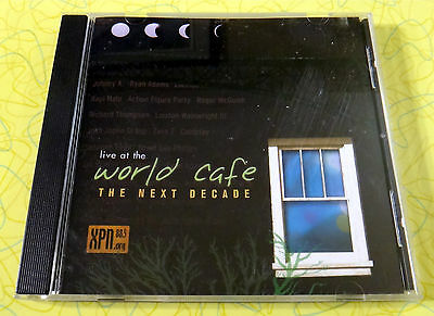 Live At The World Cafe  The Next Decade   Music Cd   Wxpn 88 5   Rare Coldplay