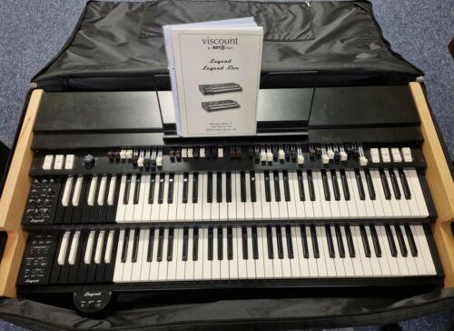Viscount Legend - portable drawbar organ with carry case