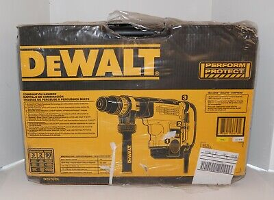 Dewalt D25763k 2 Sds Max Combination Hammer Drill Kit 15a 15.5 Joules New