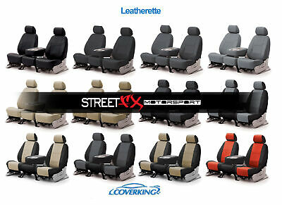 CoverKing Leatherette Custom Seat Covers for Toyota Tundra