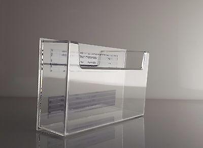 Magnetic Storage Box Or Postcard Holder For 6 Wide Index Cards Lot Of 25