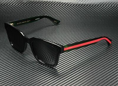 GUCCI GG0001S 006 Black Men's Authentic Polarized Sunglasses 52 mm